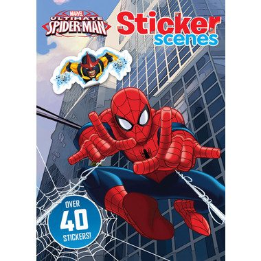 MARVEL SPIDER-MAN STICKER SCENES