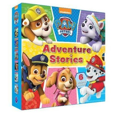 Nickelodeon PAW Patrol Adventure Stories :6 Books Inside!
