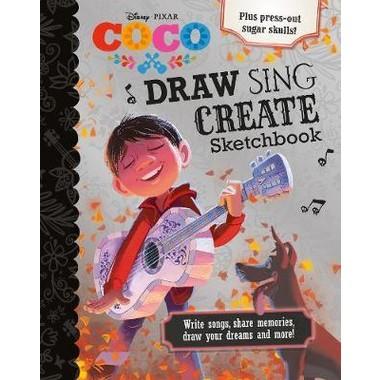 DISNEY COCO DRAW, SING, CREATE SKETCHBK