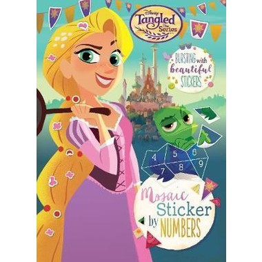 DISNEY TANGLED THE SERIRES MOSAIC STICKE