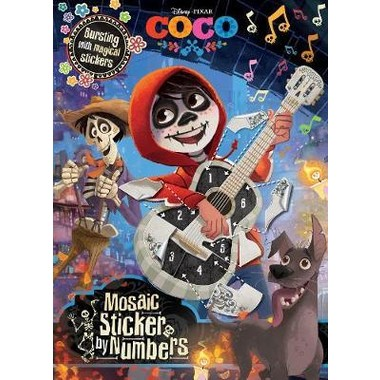 DISNEY PIXAR COCO MOSAIC STICKER BY NUMB
