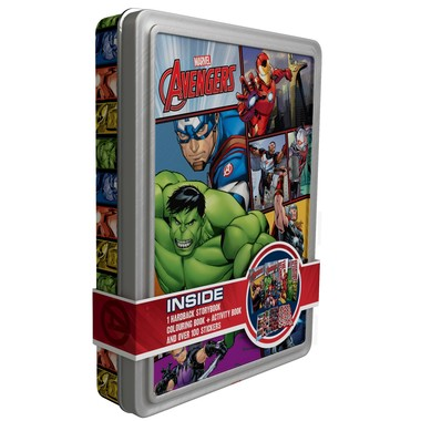 Marvel Avengers Happy Tin