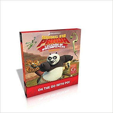 On the Go with Po! :Good Po, Bad Po; Like Father, Like Po; Master of Manners; The Po Who Cried Ghost; Pos Awesomely Perfect Present; Legendary Legends