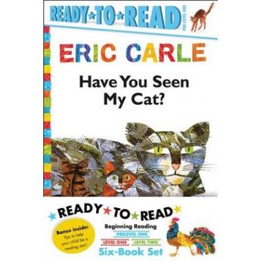 Eric Carle Ready-To-Read Value Pack :Have You Seen My Cat?; Walter the Baker; The Greedy Python; Rooster Is Off to See the World; Pancakes, Pancakes!; A House for Hermit Crab