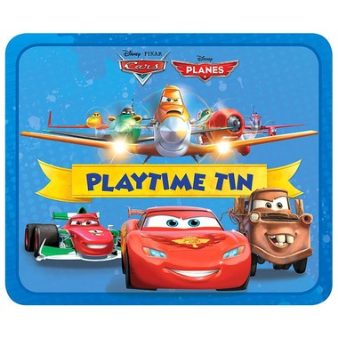 DISNEY PLAYTIME TIN CARS PLANES