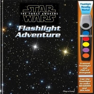 Star Wars the Force Awakens Flashlight Adventure