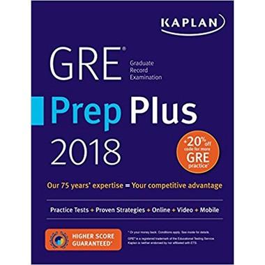 KAPLAN GRE 2018 PREP PLUS