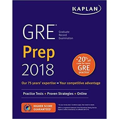 KAPLAN GRE 2018 PREP