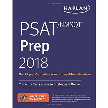 Psat/NMSQT Prep 2018 :2 Practice Tests + Proven Strategies + Online
