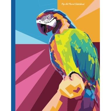 Pop Art Parrot Sketchbook
