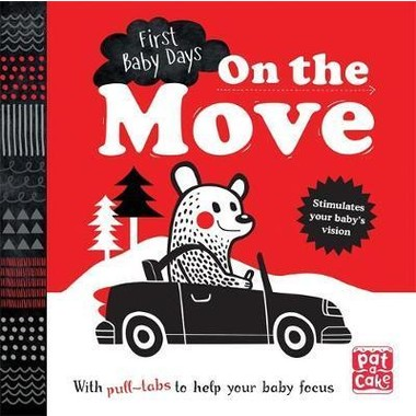 ON THE MOVE PULL-TAB BOARD BOOK