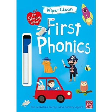 I'm Starting School: First Phonics :Wipe-clean book with pen