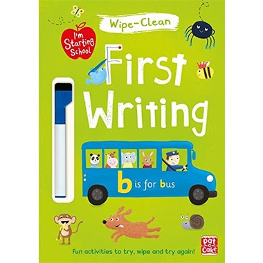 I'm Starting School: First Writing :Wipe-clean book with pen