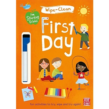 I'M STARTING SCHOOL: FIRST DAY WIPE-CLEA