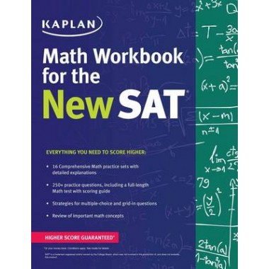 Kaplan Math Workbook for the New SAT
