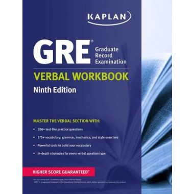 KAPLAN GRE VERBAL WORKBOOK 9E