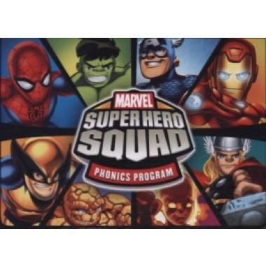 SUPER HERO SQUAD PHONICS BOXSET