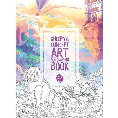 MrSuicideSheep's Concept Art Colouring Book