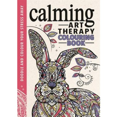 Calming Art Therapy :Doodle and Colour Your Stress Away