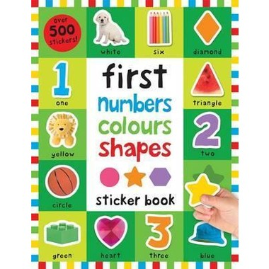 Numbers Colours Shapes :First 100 Stickers