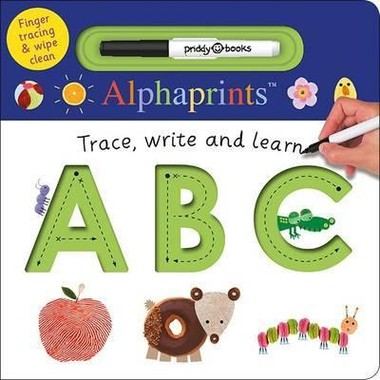 ABC :Alphaprints Trace, Write, Learn