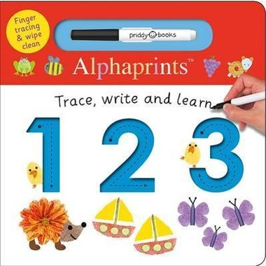 123 :Alphaprints Trace, Write, Learn