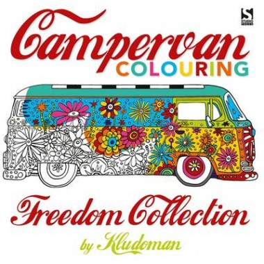 Campervan Colouring :Freedom Collection