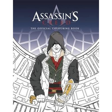 Assassin's Creed Colouring Book :The Official Colouring Book