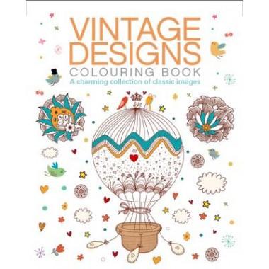 Vintage Designs Colouring Book