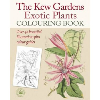 Kew Gardens Exotic Plants Colouring Book