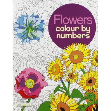 Colour by Number :Flowers