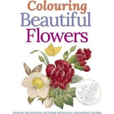 Colouring Beautiful Flowers