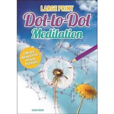Large Print Meditation Dot-to-Dot