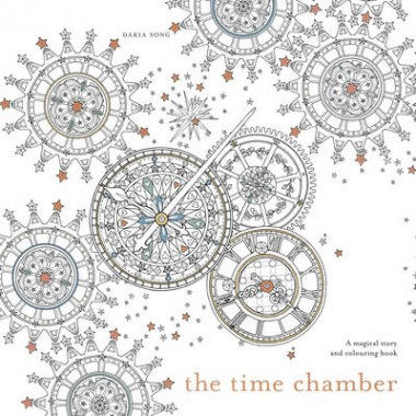The Time Chamber :A magical story and colouring book