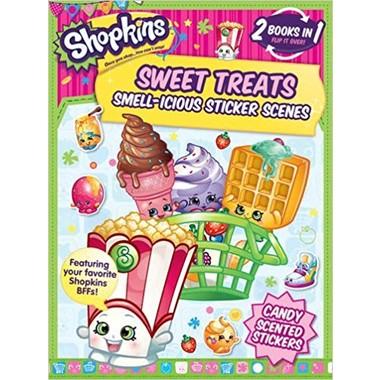 Flipover Shopkins Sticker Book :Sweet Treats