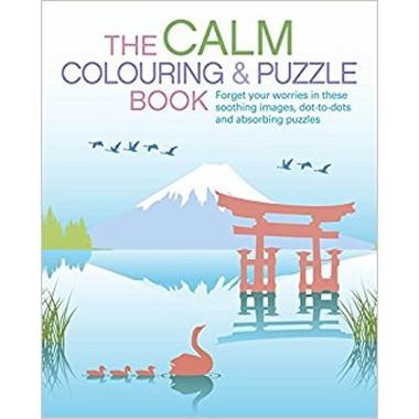 CALM COLOURING & PUZZLE BOOK