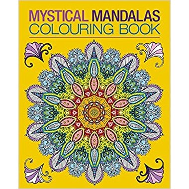 Mystical Mandalas Colouring Book