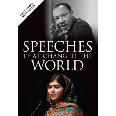 SPEECHES THAT CHANGED THE WORLD +DVD /H