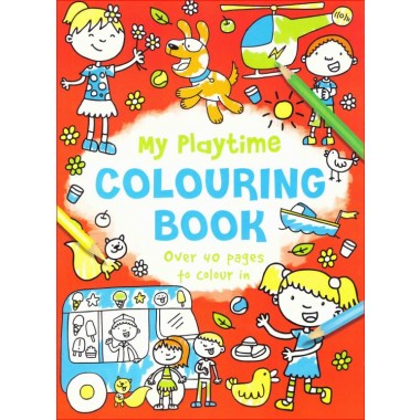 MY FUN TIME COLOURING BOOK