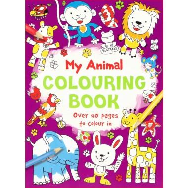 AMAZING ANIMAL COLOURING