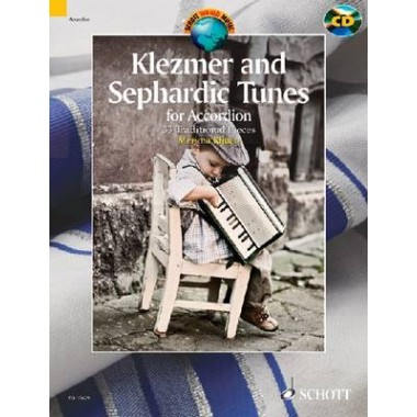 Klezmer and Sephardic Tunes - 33 Traditional Pieces for Accordion