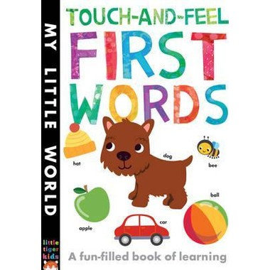 Touch-and-Feel First Words :A Fun-Filled Book of First Words