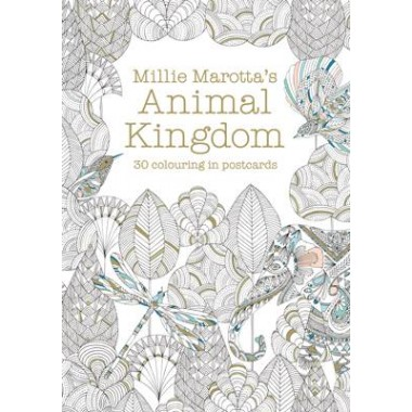 Millie Marotta's Animal Kingdom Postcard Book :30 beautiful cards for colouring in