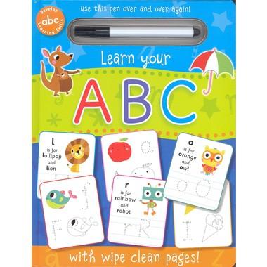WIPE CLEAN: ABC