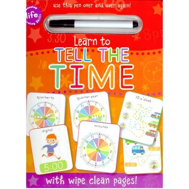 WIPE CLEAN: TELL THE TIME