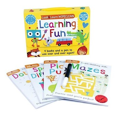 WIPE CLEAN PACK: MY LEARNING FUN