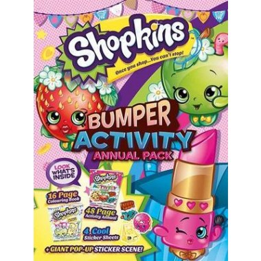 Shopkins Activity Annual Bumper Pack :2015