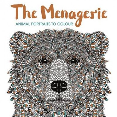 The Menagerie :Animal Portraits to Colour