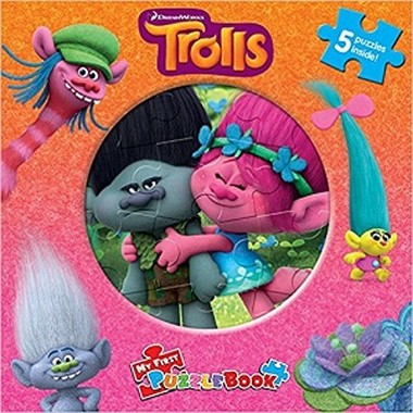 MY FIRST PUZZLE BOOK : DREAMWORKS TROLLS