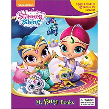 Busy Book:Nick Shimmer And Shine